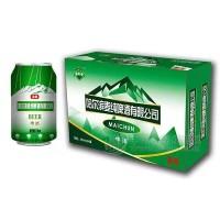 哈尔滨麦纯啤酒320mlx24罐