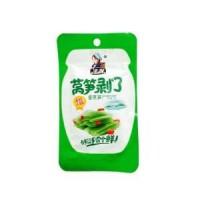 凌妹休闲食品莴笋剥了 酱莴笋28g招商