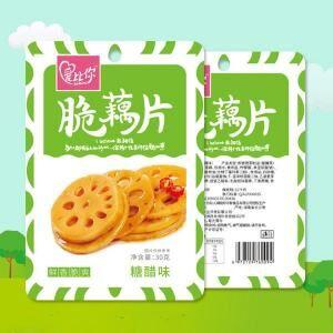 爱比你脆藕片鲜香脆爽糖醋味蔬菜制品30g
