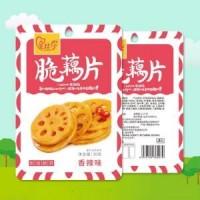 爱比你脆藕片鲜香脆爽香辣味蔬菜制品30g