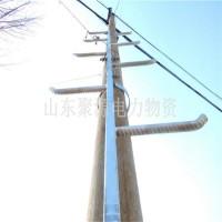 电杆爬梯加工 热镀锌钢管爬梯可来图定做 抱箍式固定爬梯